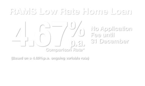 rams home loans calculator rams low rate home loan 4 65 comparison rate