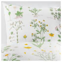 strandkrypa quilt cover and 4 pillowcases floral patterned