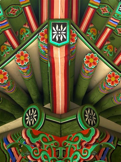 Bando Korea Green Flower 41 best images about korean temples on traditional temple and baseboards