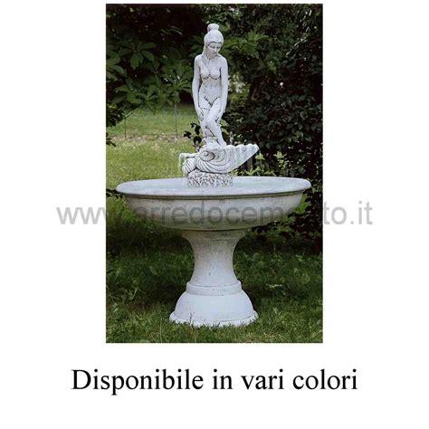 fontane in cemento da giardino fontane da giardino mauritius diam cm105x155h nei vari