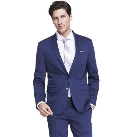 Jaket Jas Blazer Casual Biru Navy aliexpress buy 2016 new style mens suits groomsmen