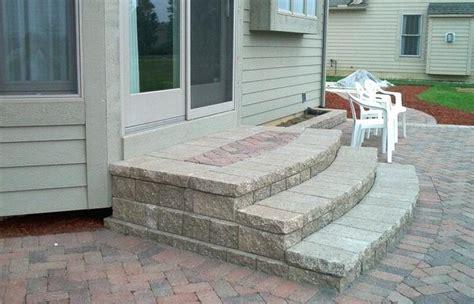 concrete front steps design ideas amazing  door patio
