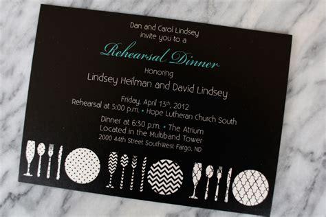 Wedding Invitations Fargo Nd by Modern Rehearsal Dinner Invitations Fargo Wedding