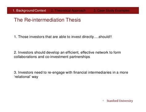 Stanford Mba Program by Stanford Thesis