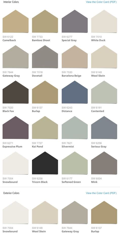 sherwin williams hgtv home liveable luxe color palette home decor inspiration