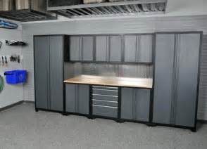 metal cabinets for garage stainless steel garage cabinets spintech garage products