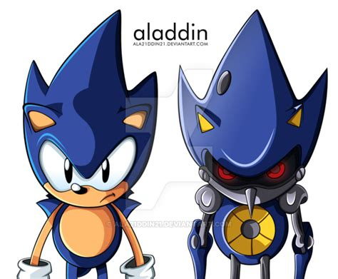 Imagenes De Vector Sonic | vector commission sonic and hyper metal sonic by
