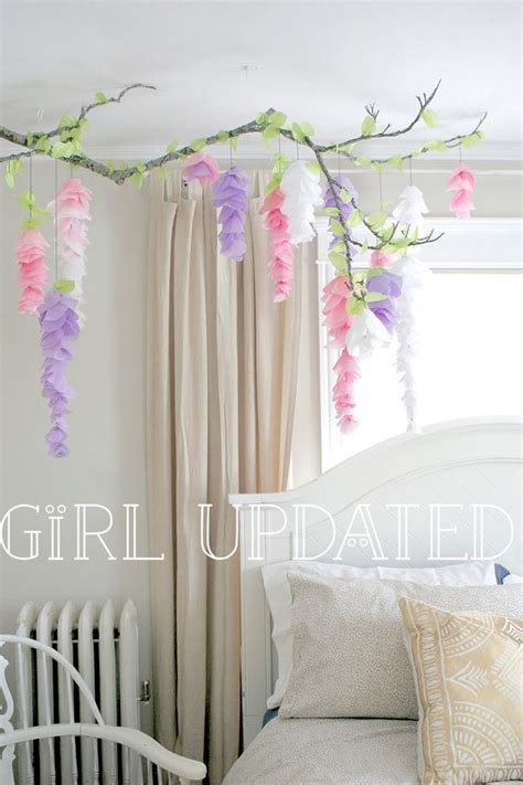 paper bedroom decorations paper flower garlands flower garlands and tissue paper