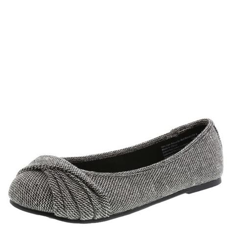 payless shoes womens flats s bayley twist flat flats gray and shoes