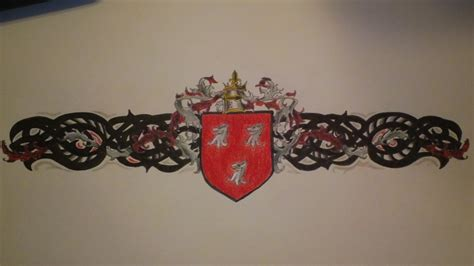 family tattoo bands family crest arm band tattoo by siren757 on deviantart