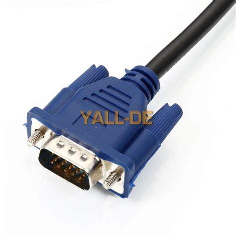 Kabel Vga 15 Pin To S 8 Pin 12 Meter 1 neu 1 8m 6ft svga 15 pin vga m m moniaufr lcd bildschirm