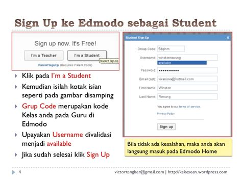 join edmodo as a student edmodo untuk student
