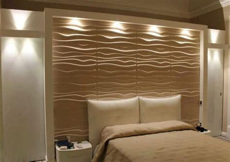 testata letto in cartongesso testata letto rivestita con pannelli tridimensionali