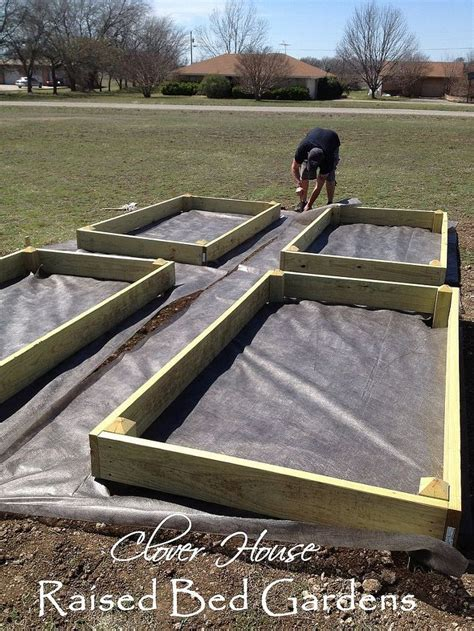 How To Set Up A Raised Garden Bed Raised Bed Garden Part 2 Setting The Beds In The Ground Hometalk