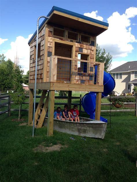 backyard clubhouse ideas boys playhouse ideas boys clubhouse complete with