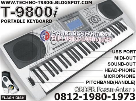 Asli Murah Techno Piano Karaoke Keyboard Murah keyboard techno agustus 2013
