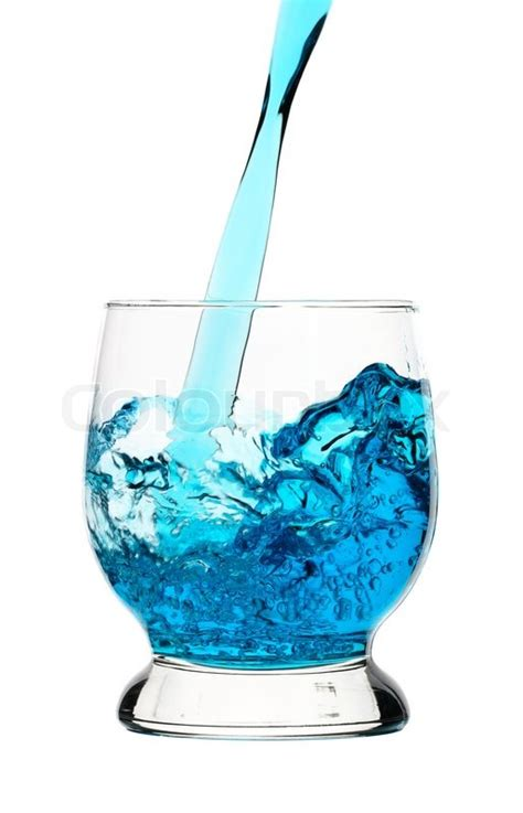 cloud 9 energy drink contact details blue drink is being poured into glass isolated white