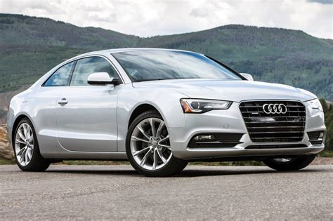 2016 audi a5 coupe pricing features edmunds