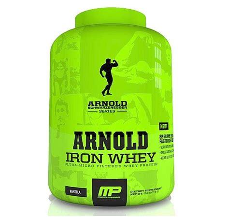 Berapa Whey Protein arnold schwarzenegger series iron whey