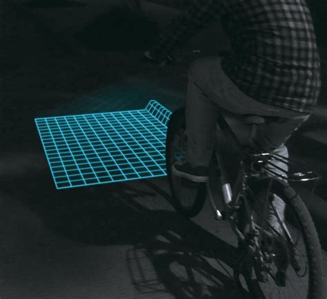 Lu Projector Led lumigrids led projector for bicycles wordlesstech