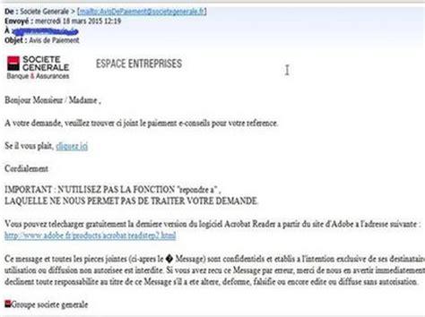 format email societe generale pour d 233 tecter du phishing l internaute moins fort qu il