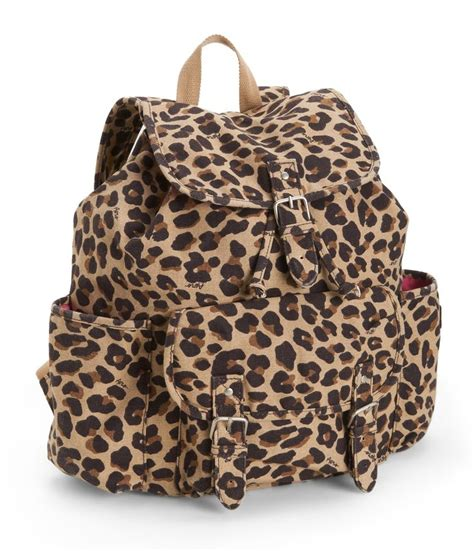 Leopard Print Backpack leopard print backpack from aeropostale accessories