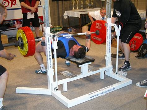 olympic record bench press european powerlifting federation