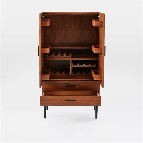bar cabinet reede bar cabinet tall west elm