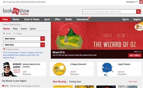 bookmyshow jobs bookmyshow raises 25 million hints at ipo plans