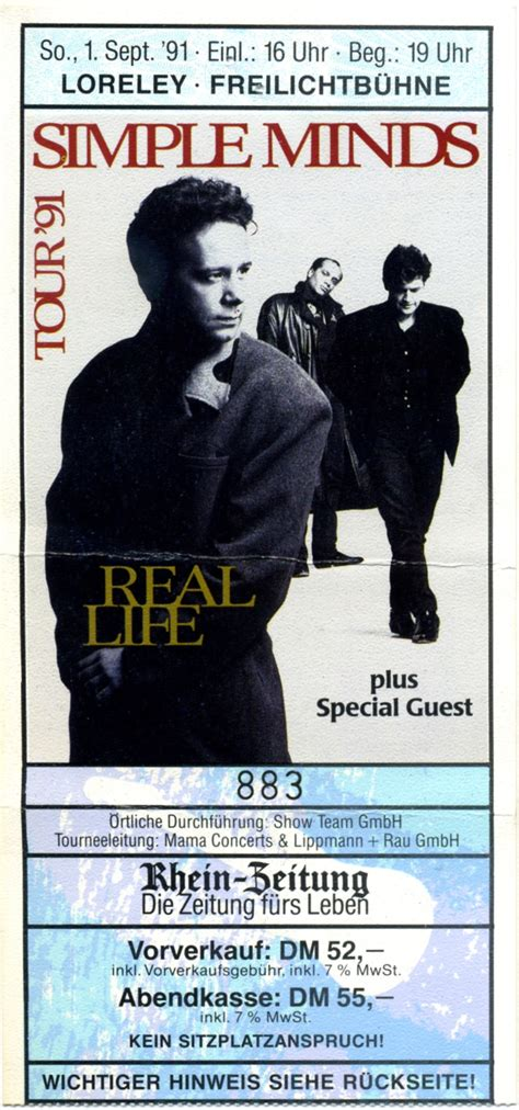mind s simple minds the rock n roll years