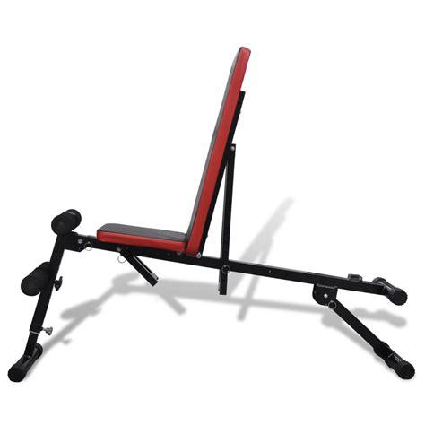 multi position bench adjustable sit up bench multi position vidaxl com
