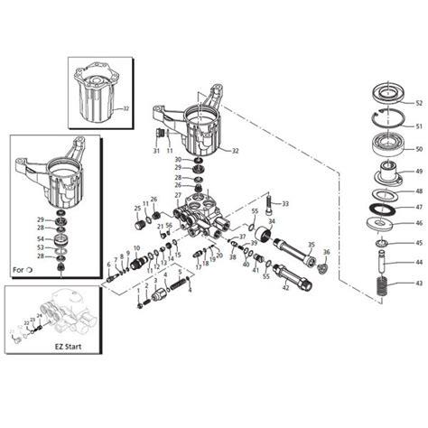 troy bilt pressure washer diagram 311554gs rmw series 2600 psi max troy bilt