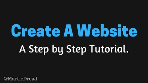 tutorial building a website how to start a wordpress website from scratch step by