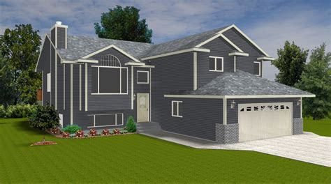 bi level house plans with attached garage inspiring exles bi level house plans with attached