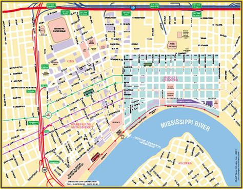 printable french quarter new orleans maps kbslenglishg streetcar scene two