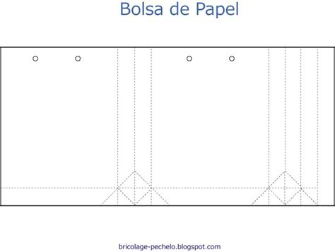Plantilla Para Bolsa De Papel Imagui Proyectos | plantilla para bolsa de papel imagui proyectos