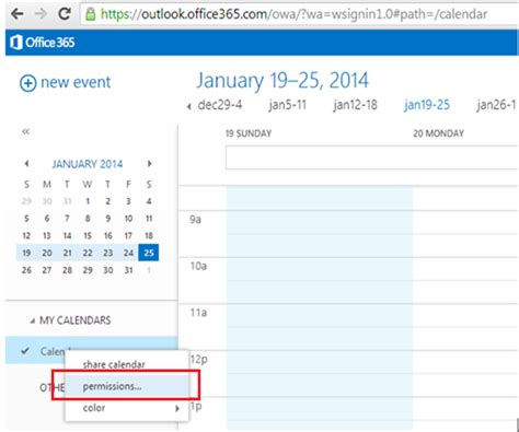 Calendrier On Line How To Publish Anonymous Calendar Url In Exchange