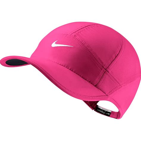 nike featherlight 2 0 s tennis hat pinkpow white