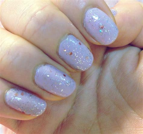 Light Nails by Light Purple Nails