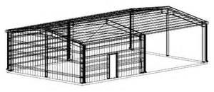 Steel Frame Barns For Sale 30 X 50 X 12 Steel Building For Sale Springfield La