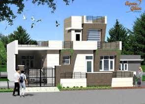 ground floor house elevation designs in indian 3 bedroom modern simplex 1 floor house design area 242m2 11m x 22m click on this link