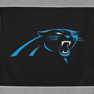 Nfl carolina panthers team logo wall hanging decor accent