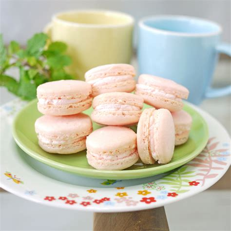 i m just here for dessert macarons mini cakes icecreams waffles more books pink macarons crustabakes