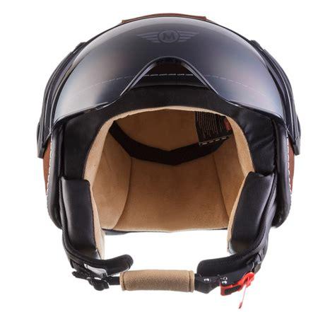 design roller helm jet helm leder helm roller helm motorrad helm moto h44