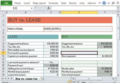 Novated Lease Calculator Spreadsheet novated lease calculator spreadsheet and car lease