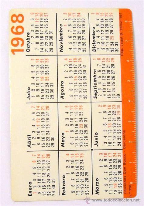 Serbia Fastis 2018 Calendario De 1968 28 Images Colecciono Calendarios
