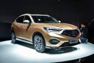 Acura Mini Suv Acura Cdx Small Suv Debuts In China Based On Honda Hr V