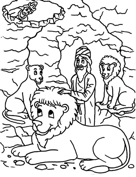 Daniel Praying Coloring Pages by Daniel And The Lions Den Coloring Page Printable