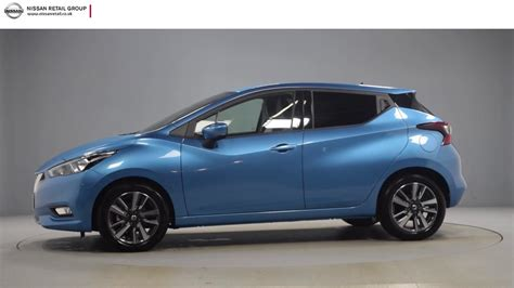 blue nissan micra nissan micra ig t n conecta power blue