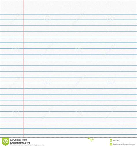 Line Sheet Of Paper by Leaf Lines Royalty Free Stock Photo Image 9867385